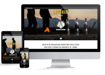 Luminar Mezcal Website